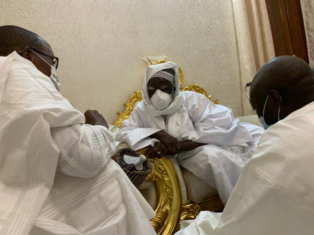 Le Président Abdoul Mbaye Actuellement à Touba