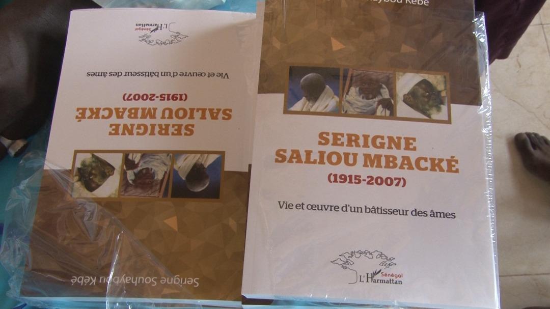 Cérémonie de dédiasse du livre de Serigne Souhayoubou Kébé,petit fils de Serigne Saliou sur la Vie et Œuvre d'un bâtisseur des âmes.