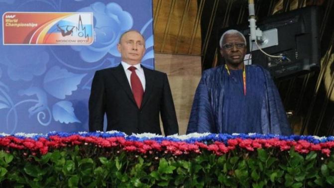 IAAF - Sous Lamine Diack, en 15 ans, les recettes de télé et sponsoring sont passées à plus d'un milliard d'euros