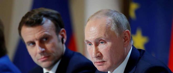 Poutine et Macron discutent de la situation au Haut-Karabakh
