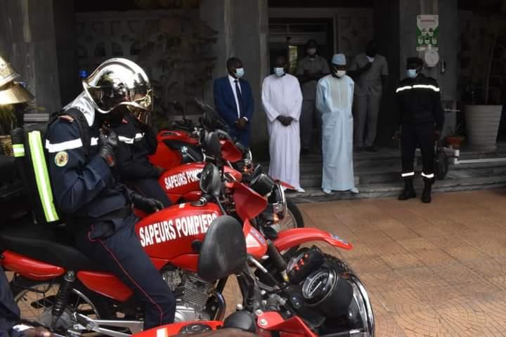 Logistique: Les sapeurs-pompiers dotés de nouvelles motos pour ...