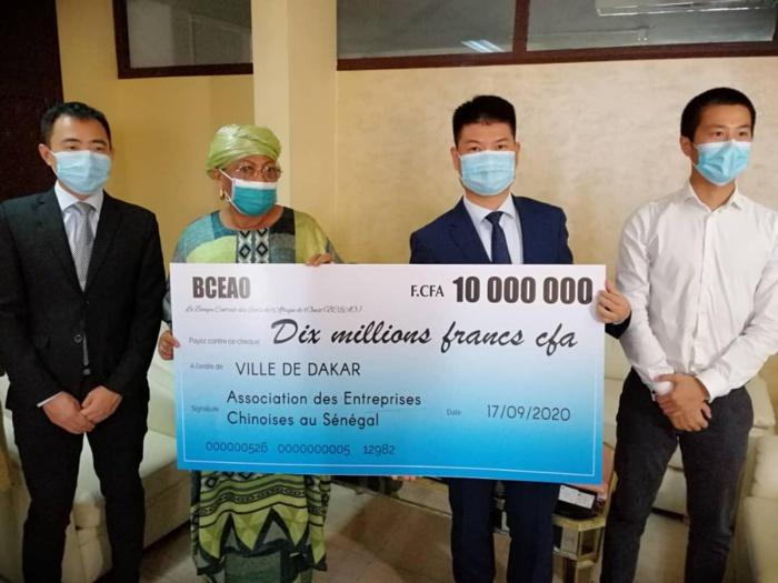 Lutte contre les inondations : Un don de 10 millions de la Chine pour appuyer la mairie de Dakar.
