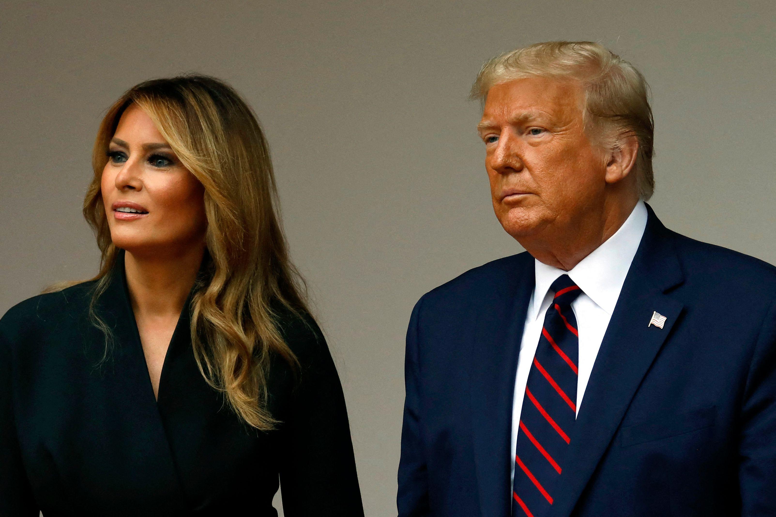 Etats-Unis - Donald Trump et son épouse testés positifs au coronavirus
