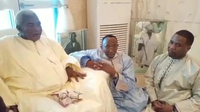 Bonne couverture DMédia du Grand Magal : Bougane Guèye Dany en visite et quête de bénédiction chez les guides religieux