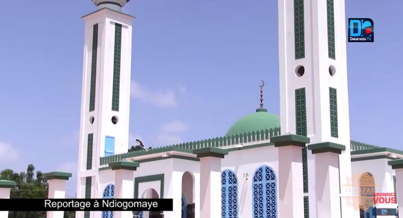 NJOGOMAY / Serigne Cheikh Bara Lahad Mbacké érige une mosquée d'une rare architecture en moins de 5 ans.