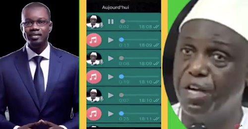 Mansour Faye partage les audios d'Ousmane Sonko