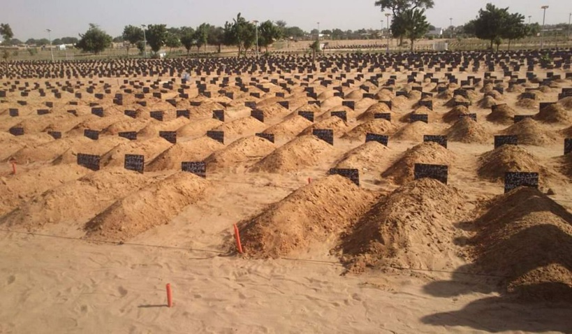 Touba : 6.375 inhumations entre janvier et juillet 2020 au cimetière Bakhiya