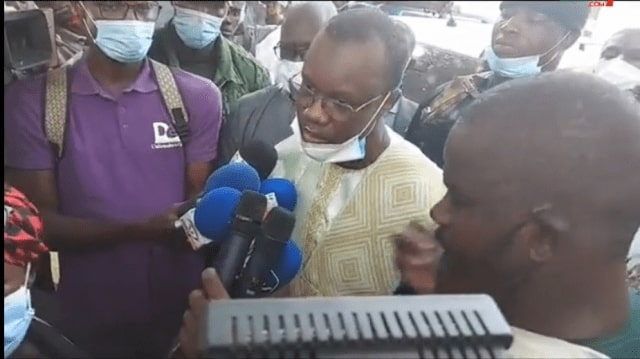 Touba: Ousmane Sonko « Dou niou nangou keneu nek si réseaux sociaux di dal si sounou diné kou ko… »