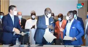 Signature de contrat pour la mise en œuvre de la centrale de 300 MW : les acteurs reviennent sur l'importance du projet