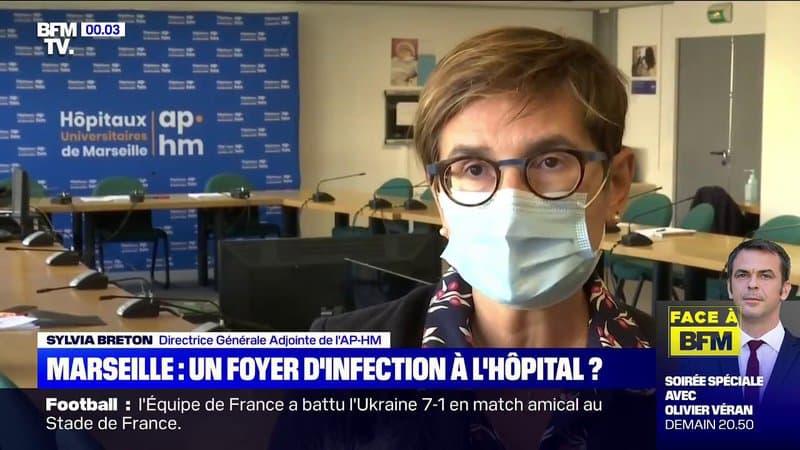 Marseille: 15 patients et huit soignants atteints du Covid-19 à l'hôpital de la Conception