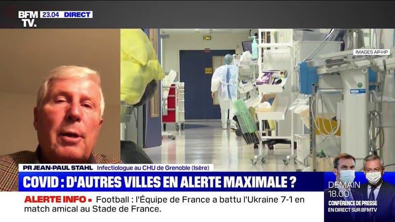 """""""C'est incontestable"""": pour le professeur Stahl, il faut durcir les mesures de restriction à Grenoble"""