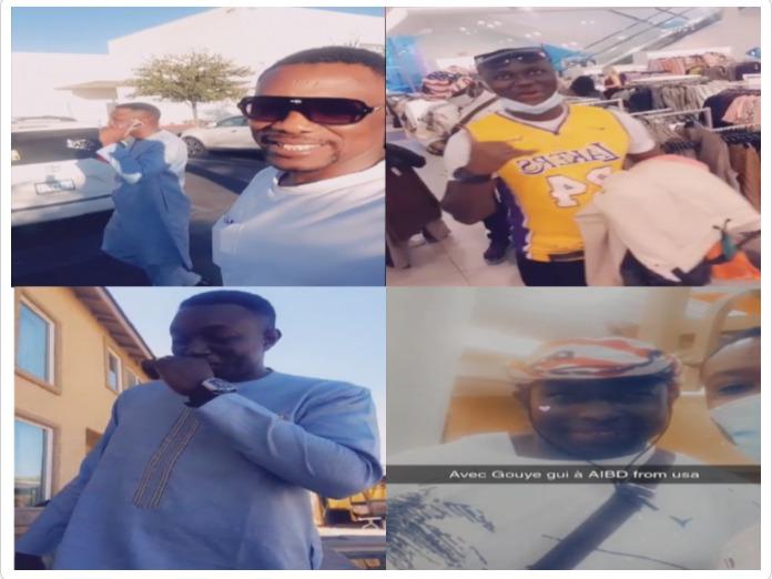Tange a Las Vegas fashion avec Mo Gate dans les préparatifs