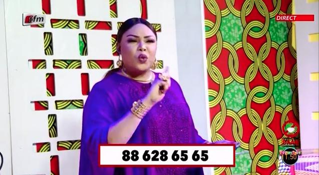 Critiquée sur les RS: Amina Poté en colère et répond en direct « Sama dieukeur mo ndieuk si mane »