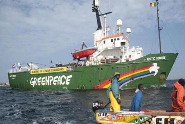 """Le ministère des Pêches dénonce les allégations """"totalement infondées"""" de Greenpeace"""