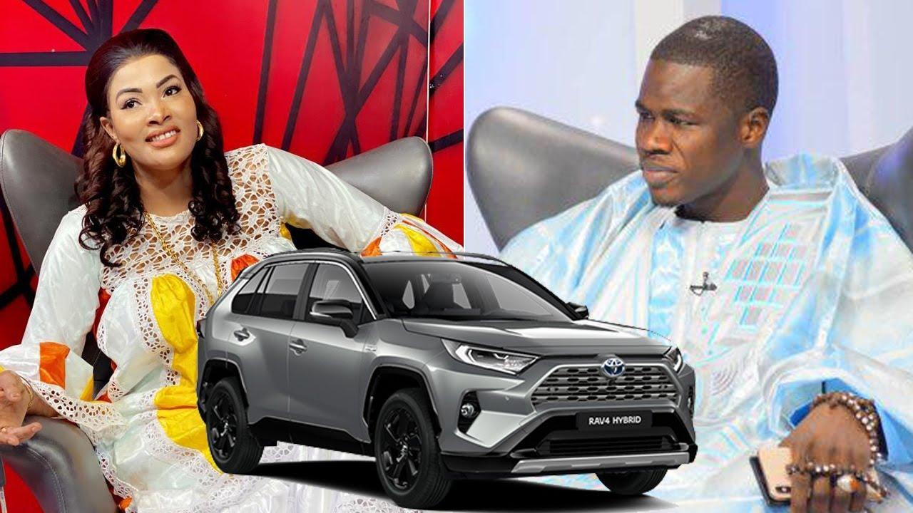 Vidéo-Abdoulaye Diop Khass offre encore une voiture Jaguar de 13 millions à Soumboulou