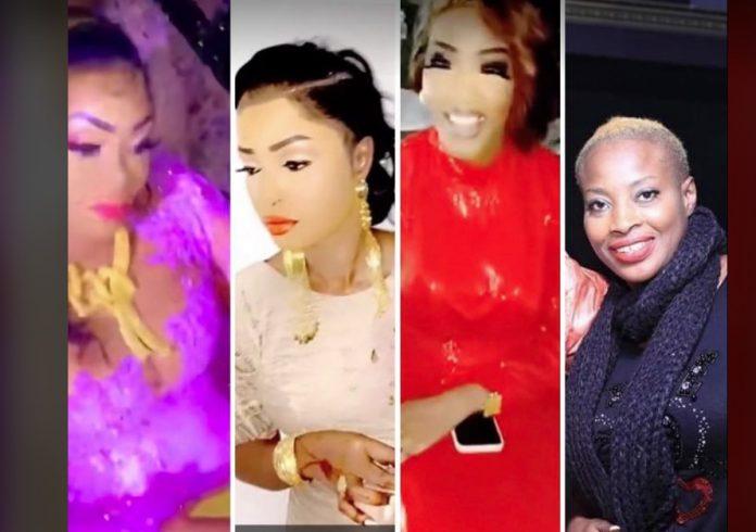 Mariage de Mbathio:Ndeye Guéye zappée des invités,Sabel Dieng, Oumou Sow, Ya Awa imposent leur sagnsés »Battré des VIP »