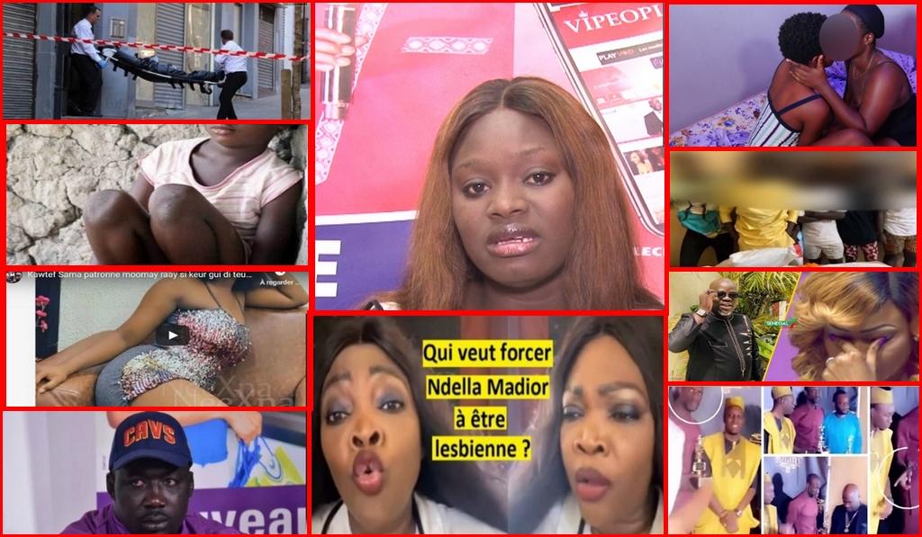 100% Peoples: NDOYE bane demasque le visage du mari de Mbathio L€sbi€nn£s g0rdj!gu£n  détruit Ndela Madior Sanekh