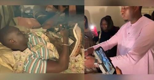 Mo Gates Débarque Chez Sankara Mbaye Et L'arrose De Millions, Pape Mbaye Et Ndiolé Tall Encaissent Gros