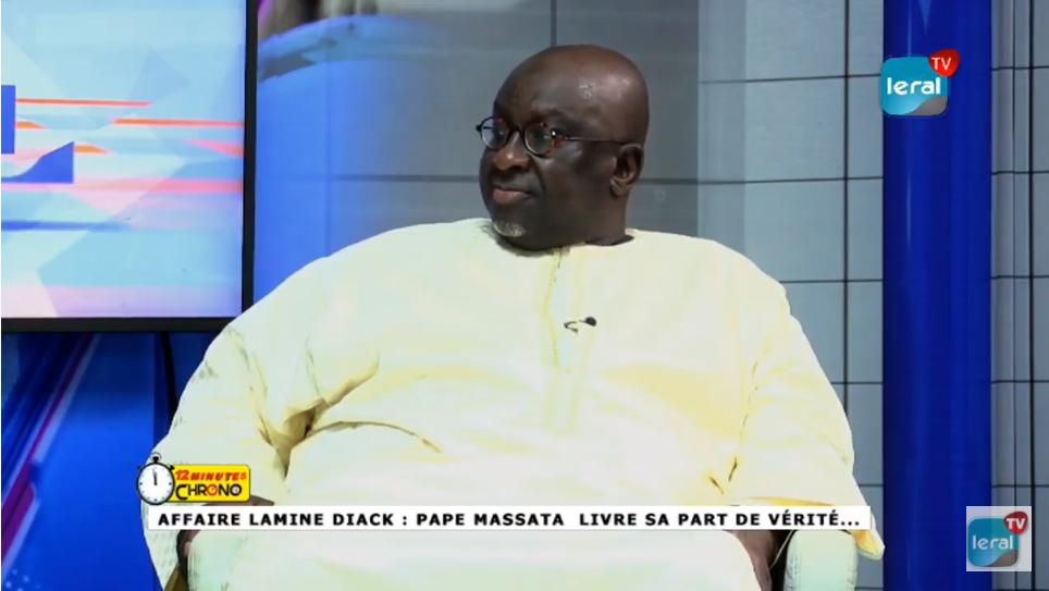 En Direct 12 minutes Chrono - Affaire Lamine Diack: Pape Massata livre sa part de vérités