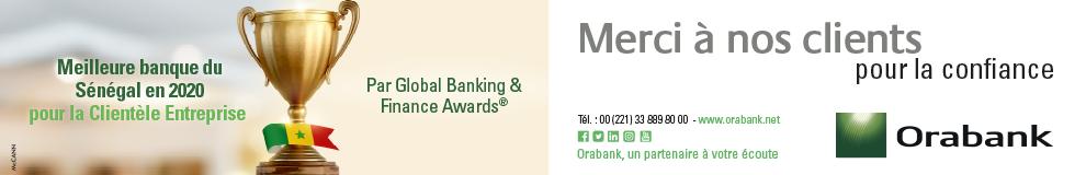 Oragroup : Le Produit net bancaire en hausse de 3,5% au 3eme trimestre