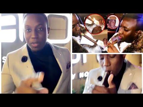 Mo gates sur l'affaire billets dollars allumé pour fumer son cigare  » dagnouy prépare film nagn..