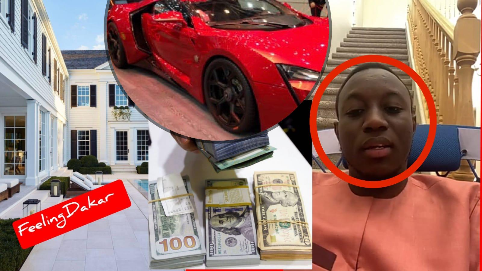 Mo Gates offre 450 millions FCfa à sa maman, deux Ranger Rover et un Mercedes S560 Maybach