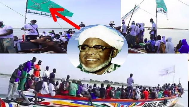 Medina Baye : L' arrivée des Talibés de Baye Niass venant des îles du Saloum à bord des pirogues