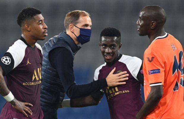 Victoire du PSG sur Basaksehir (2-0), Retrouvailles entre Gana Gueye et Demba Ba après la rencontre