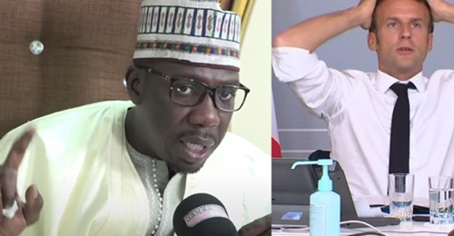 Baye Mbaye Niass fils cadet de Baye Niasse Très en colère « Macron Ak Jabaram Ay Domi Haram Lagne »