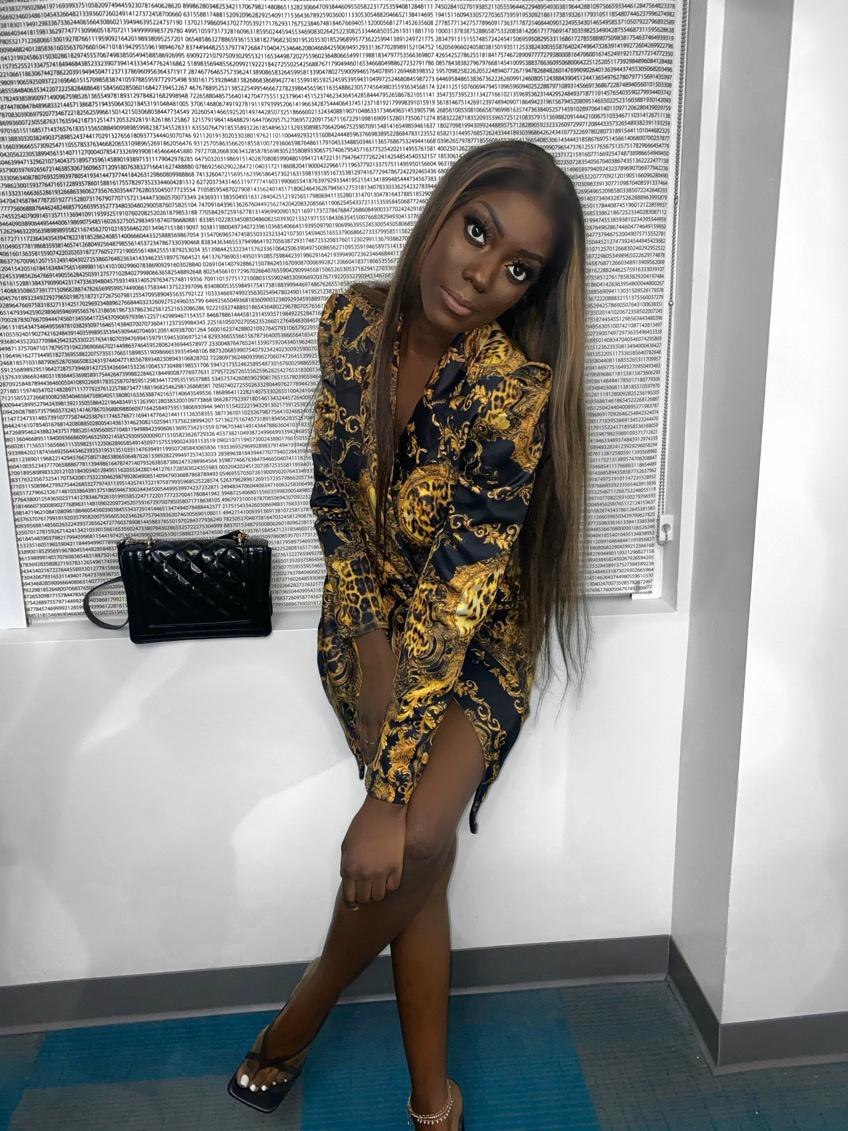 Stylée et Fashion,Amina Dia mannequin internationale Sénégalaise de New York ravit la vedette à Las Vegas Fashion Show de Mo Gates.