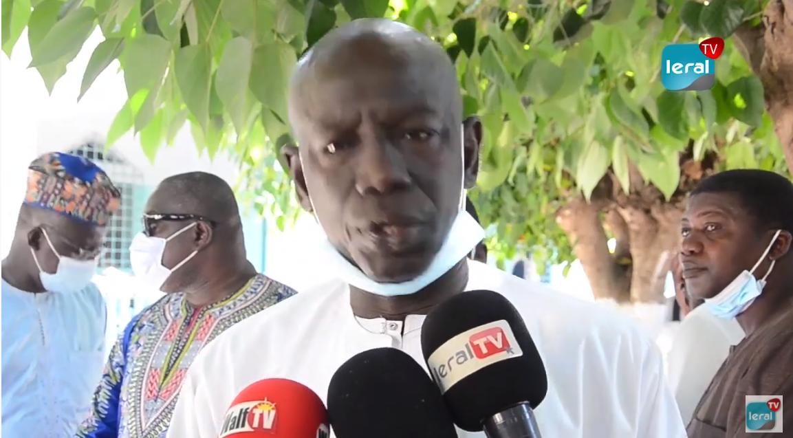 Levée de corps du Professeur Iba Der Thiam: Témoignages des autorités !