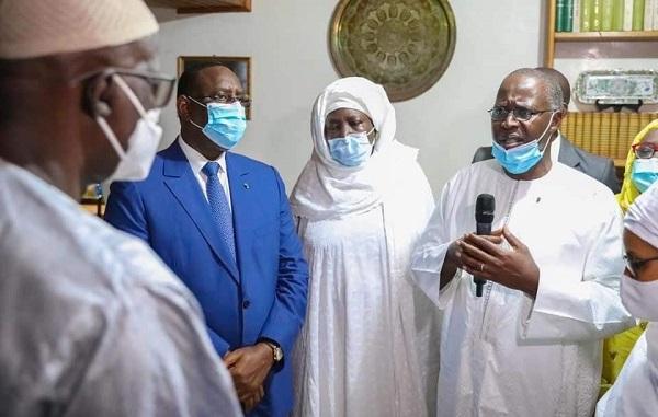 Cérémonie de condoléances chez Iba Der : aux cotés de Macky sall, Boune Abdallah Dionne le remercie publiquement