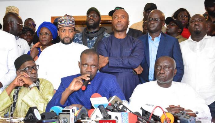 Ralliement : Des Responsables De L'Apr Et De Rewmi Rejoignent Ousmane Sonko