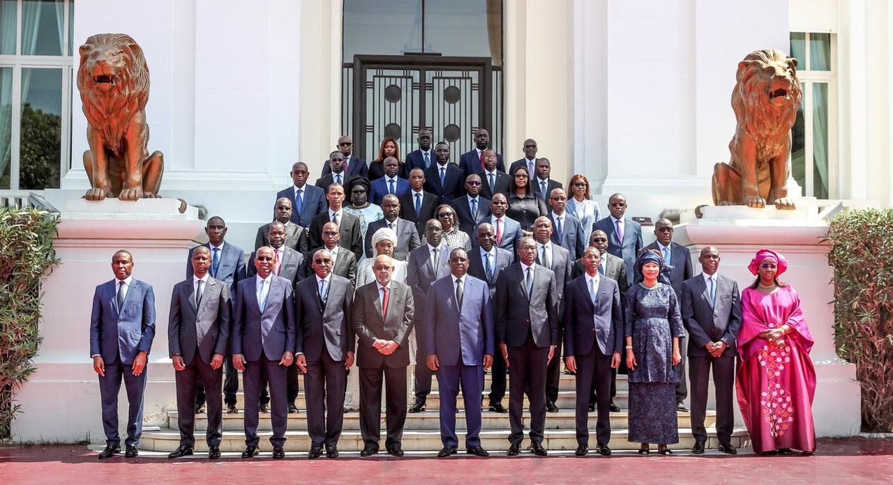 1er Conseil des Ministres du nouveau Gouvernement