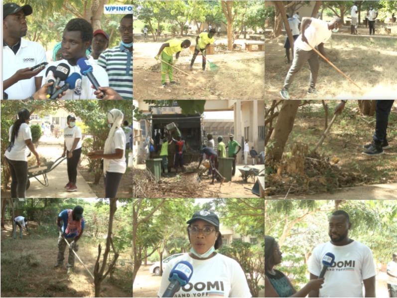 El Karim Ndiaye et son mouvement Doomi grand yoff soutiennent les élèves du lycée moderne de Dakar