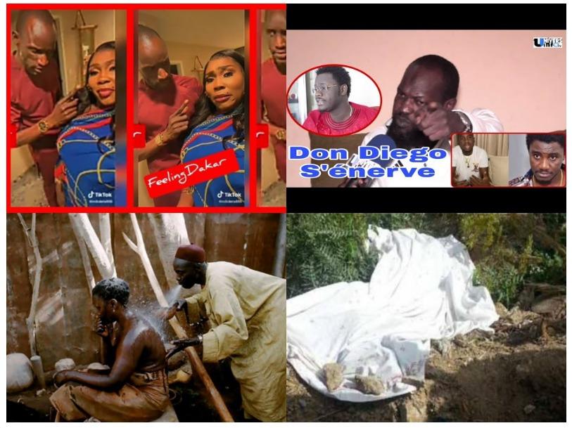 Très graves révélations de Don Diego sur l'affaire de Sidi Diop et Waly,Sanex à Ndiolé dama beug nga
