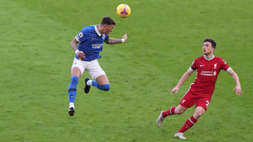 10e journée Premier League: Liverpool tenu en échec par Brighton (1-1)