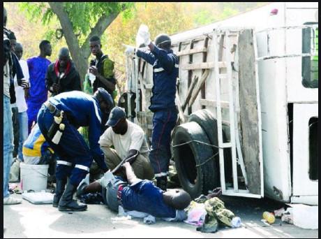 Accident sur l'axe Linguère-Matam: 4 morts et 2 blessés graves enregistrés