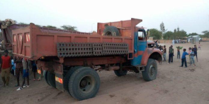 Dahra-Djoloff: Une collision entre deux camions de sable fait 2 blessés graves