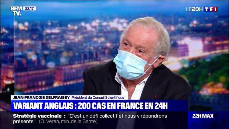 """Jean-François Delfraissy sur le variant anglais du Covid-19: """"On est en train d'anticiper un danger potentiel"""""""