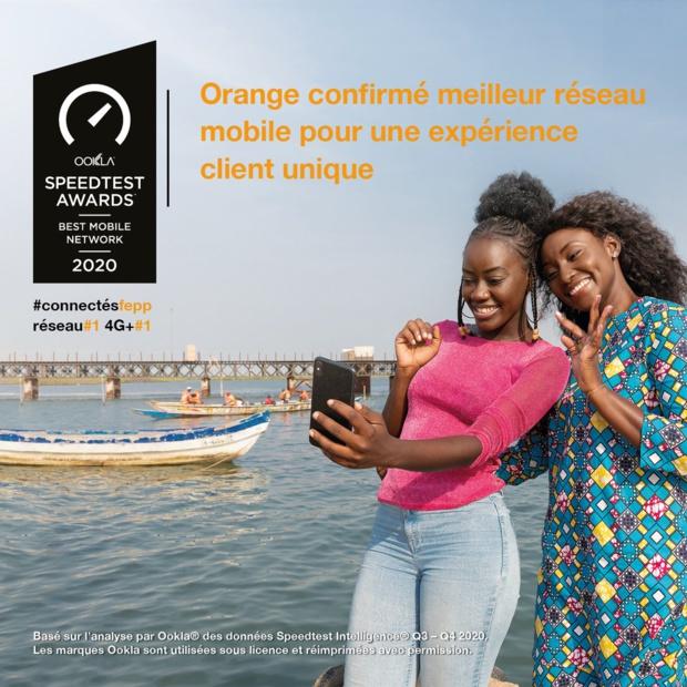 Telecom : Orange confirmé meilleur réseau mobile par Ookla