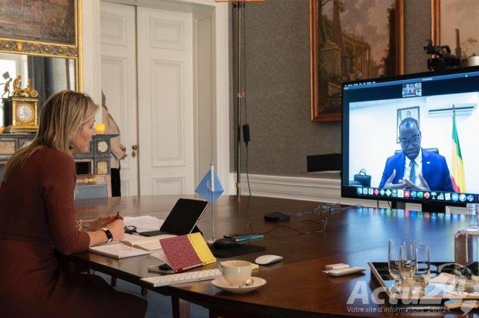 Visite virtuelle de la reine Maxima au Sénégal : Voici le discours du ministre des télécoms