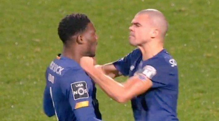 Vive altercation entre Mamadou Loum Ndiaye et Pepe