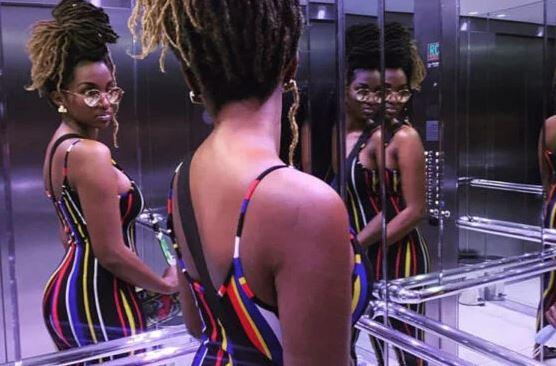 Coumba Babacar, la fille de babacar Ngom, montre ses formes généreuses