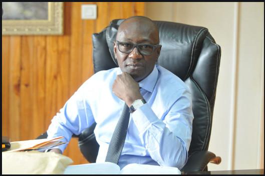 Abdoulaye Diop, Ministre de la Culture et de la Communication rend hommage à Jean Meissa Diop