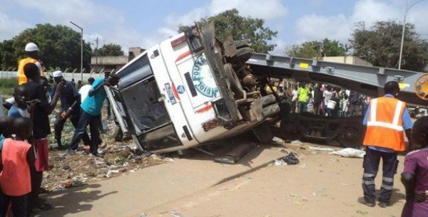 Axe Diourbel-Bambey: Un violent accident fait 4 morts
