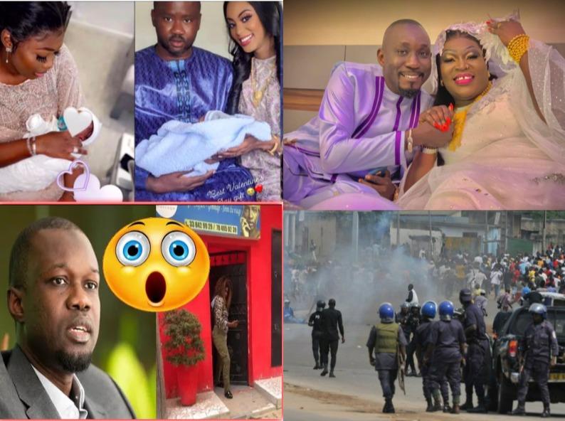 100% PEOPLES: BUZZ Mariage de Ngoné Ndiaye Ngueweul et Chon photographe, JUSTE POUR UNE SERIE TV les deux femmes de Masse koki accouchent le même jour