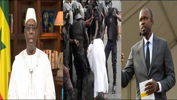 Ousmane Sonko et Ses militants Menacés par Le Président Macky Sall