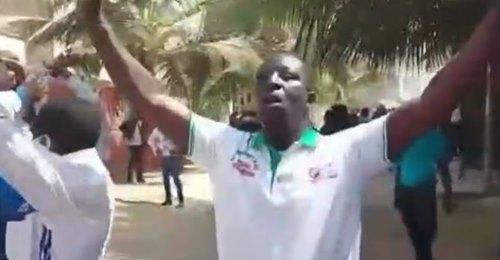 Dernière Minute : Début Des Manifestations Chez Sonko Après La Levée De Son Immunité Parlementaire