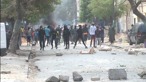 Medina occupée par les manifestations pour lancer un appel à Macky sur le couvre-feu et la faim